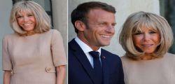 Brigitte Macron e il super ritocchino estetico... è praticamente irriconoscibile