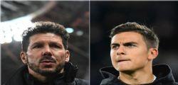 Calciomercato Juventus : Paulo Dybala e Simeone a cena a Madrid