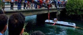 Turchia, bus scolastico precipita nel canale di ritorno dalla gita : Morte 14 persone, 6 sono bambini