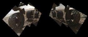 Marte : Quei fori sulle ruote di Curiosity...