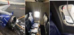 Boeing Southern Airlines : Il motore esplode durante il volo, un morto