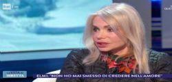 Maria Giovanna Elmi in tv smentisce il flirt con Sylvester Stallone