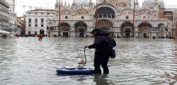 A Venezia è ancora emergenza acqua alta
