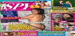 Cecilia Rodriguez tutta nuda sul Settimanale Spy