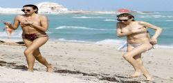 Andreja Pejic : la modella-trans in topless a Miami