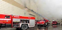Incendio centro commerciale Siberia: 64 morti, oltre 40 bimbi vittime delle fiamme