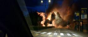 Chioggia - autobus di linea Actv prende fuoco : Paura all