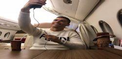 Non è il giorno per questo! Cristiano Ronaldo e il selfie sul jet privato... scomparsa Emiliano Sala