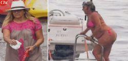 Il bikini di Romina Power a 64 anni