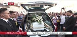 Nadia Toffa, malori durante la celebrazione dei funerali a Brescia