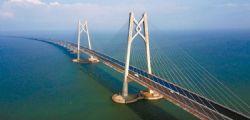 Cina : aperto ponte più lungo del mondo di 55 Km