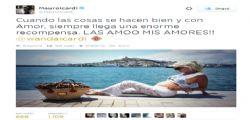 Wanda Nara è incinta : Mauro Icardi sarà padre!