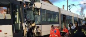 Cagliari, scontro di due treni della metro : 30 feriti, macchinista incastrato tra le lamiere