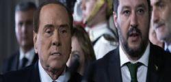 Silvio Berlusconi a Matteo  Salvini : Rai e regionali, condividere le scelte