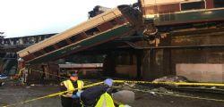 Treno deragliato Usa : 3 morti e 100 feriti