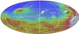 Marte : I canali scavati dall