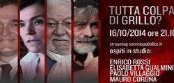 Servizio Pubblico La7 Diretta Streaming Video   Puntata Anticipazioni e Ospiti 16 Ottobre 2014.
