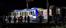 Germaina, scontro tra un treno regionale e un treno merci in Baviera: Muoiono 2 persone, 14 i feriti