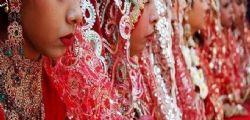 In Italia la sposa bambina violentata dal marito! Era stata data in dono all'uomo a 15 anni