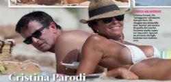Cristina Parodi beccata in micro-bikini a Formentera