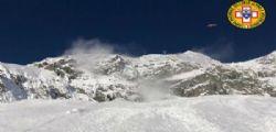 Valanga Monte Bianco, sciatori coinvolti