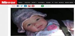 Un incubo! Papà Jamie si sveglia e trova la piccola Alissa di 4 mesi morta