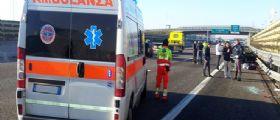 Torino, incidente mortale in tangenziale : Fermo sulla corsia d