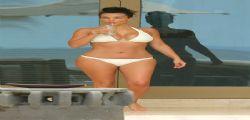 Kim Kardashian in bikini per il suo viaggio di nozze in Messico