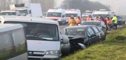 Belgio : maxi tamponamento di 132 veicoli