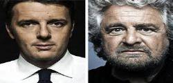 Europee 2014 : Beppe Grillo a Roma e Matteo Renzi a Firenze e Berlusconi a Milano