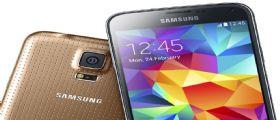Galaxy S5 : A breve riceverà un aggiornamento, iniziato il Roll Out da UK