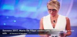 Sanremo 2017 : Maria De Filippi cambia tutto...