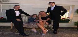 Che bella famiglia! Alessia Marcuzzi figli e marito...