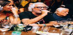 Flavio Briatore si improvvisa cantante per conquistare Elisabetta Gregoraci