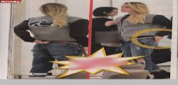 Ilary Blasi super sexy in jeans : shopping con gli slip hot!