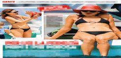 Carla Bruni più bella che mai sfoggia un fisico al top in barca con Sarkozy