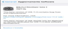 Apple rilascia iOS 11.3 beta 2 agli sviluppatori