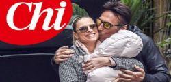 Laura Freddi mamma a 45anni ... tiene tra le braccia la sua piccola Ginevra
