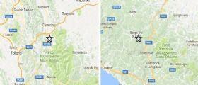 Sisma centro Italia : Scosse anche tra Emilia Romagna, Toscana e Liguria