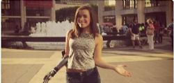 Rebekah Marine :  la modella bionica star di Instagram