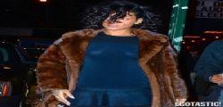 Rihanna hot in calze a rete per New York