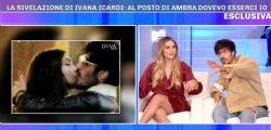 Pomeriggio 5, Ivana Icardi attacca Gaetano Arena sul bacio con Ambra: Dovevo esserci io al posto di lei