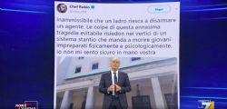 Ragionate , hai scritto una stron... Anche Massimo Giletti contro chef Rubio