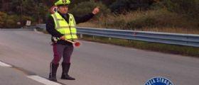 Autostrada A1: Tentano rapina ad un portavalori, camion in autostrada dati alle fiamme