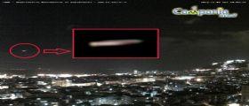 UFO a Napoli : astronavi sigariformi nel Porto e sul Vesuvio