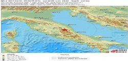 Terremoto Oggi : Scossa magnitudo 3.3 Centro Italia