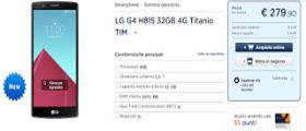 LG G4 a 279€ da Unieuro, offerta speciale o errore di scrittura?