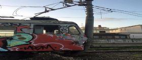 Bacoli : Treno della Cumana deraglia
