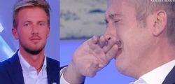 A Io e te Pierluigi Diaco piange per il marito Alessio Orsingher