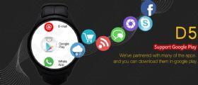 Offerta Smartwatch Android Wear NO.1 D5 : uno Smartphone sul polso a soli 118 euro